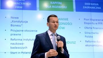 04-07-2016 11:25 Morawiecki: nie ma planu nacjonalizacji OFE