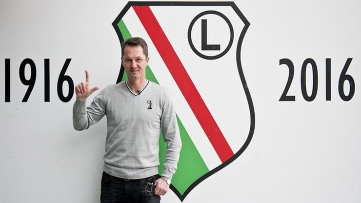 Zieliński został dyrektorem Akademii Piłkarskiej Legii Warszawa