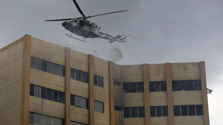 Pożar budynku ministerstwa finansów Salwadoru. Dwie osoby nie żyją