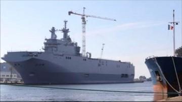 16-09-2016 16:32 Drugi mistral w Egipcie. Francja zbudowała go dla Rosji