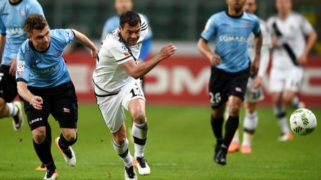 Ekstraklasa piłkarska - Legia - Cracovia 4:0