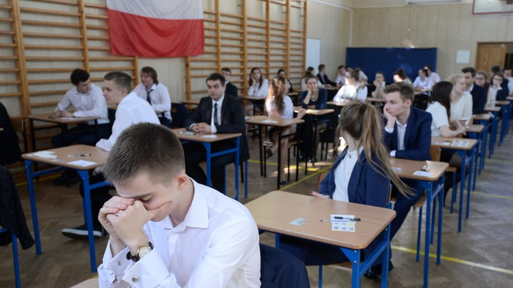 Na maturze egzamin z języka angielskiego