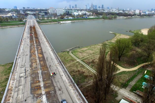 Ruszyły prace na moście Łazienkowskim