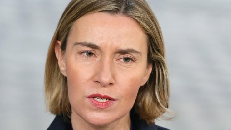 Mogherini przestrzega USA przed mieszaniem się w politykę UE