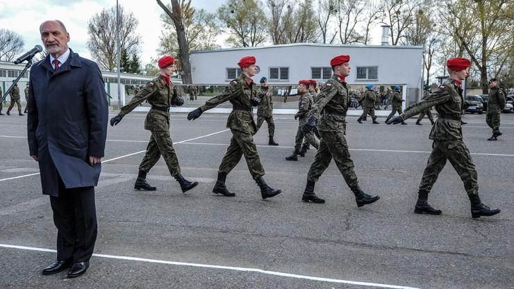 MON: koncepcja obrony terytorialnej – w najbliższych dniach