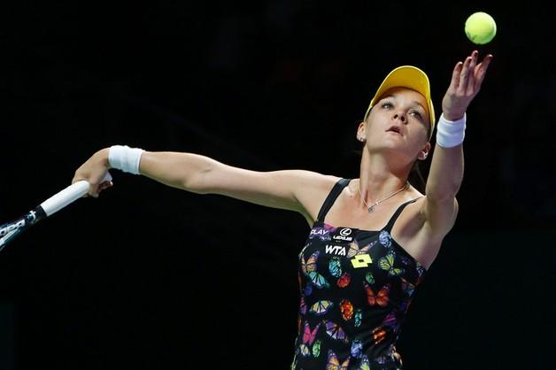 WTA Finals: Agnieszka Radwańska przegrała z Caroline Wozniacki