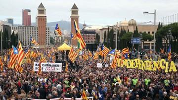 13-11-2016 18:17 Katalonia broni działaczy niepodległościowych. Wielka manifestacja w Barcelonie
