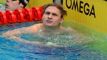 2015-12-03 Kawęcki awansował do finału ME w pływaniu