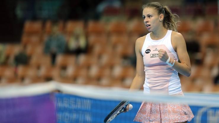 WTA w Shenzhen: Linette poznała rywalkę w 1/8 finału