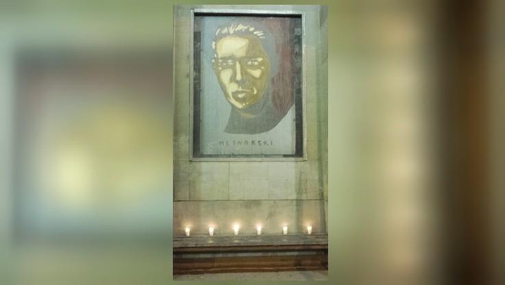 2017-03-25 Wspomnienie Młynarskiego na warszawskim przystanku