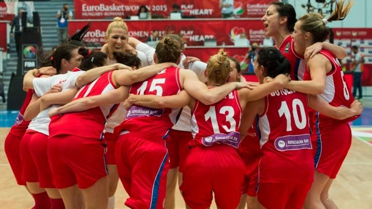 Serbia w półfinale ME koszykarek