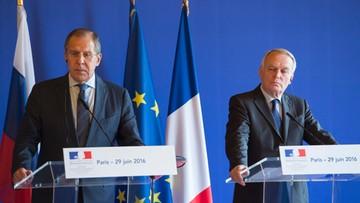 30-06-2016 05:14 Szef MSZ Francji: szczyt NATO nie powinien być konfrontacyjny wobec Rosji