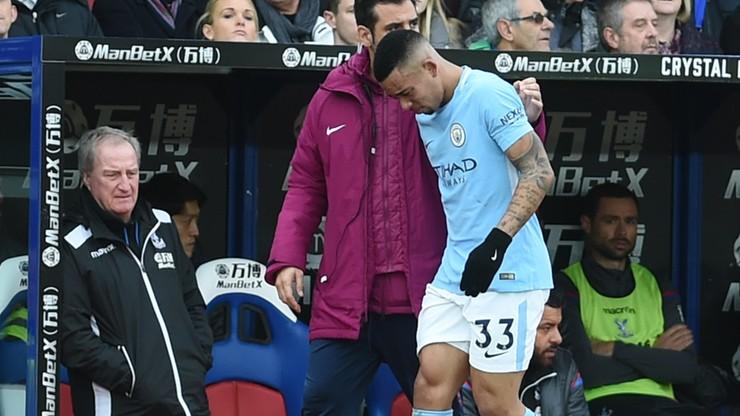 Gwiazda Manchesteru City musi pauzować kilka tygodni