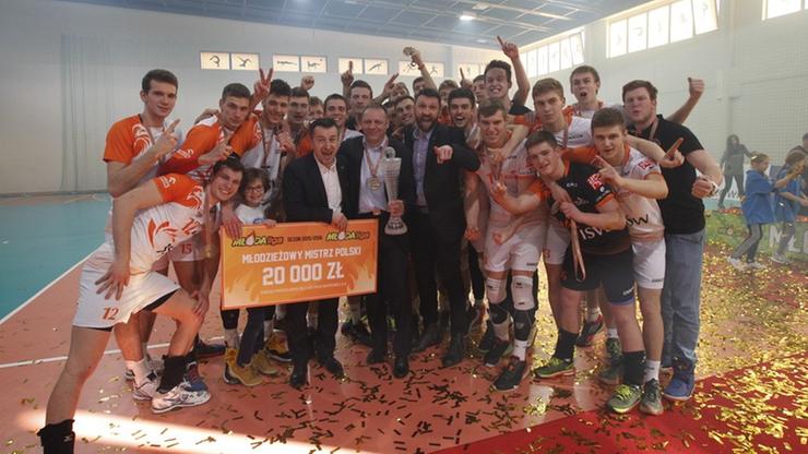 Jastrzębski Węgiel został Młodzieżowym Mistrzem Polski! (WIDEO)