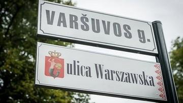 04-09-2016 22:25 Jedyna taka ulica w Wilnie. Warszawska została zapisana po polsku