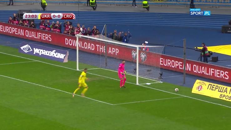Ukraina - Chorwacja 0:2. Skrót meczu