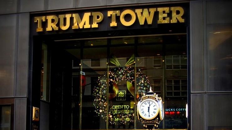 Ewakuowano wieżowiec Trumpa przez podejrzany plecak. W środku były zabawki