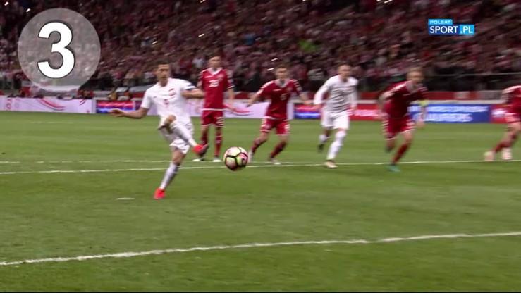 Lewandowski razy 15! Lider reprezentacji Polski wyprzedził Ronaldo