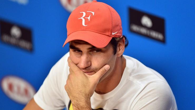 """Turnieje w lutym bez Federera. """"Przepraszam przyjaciół z Rotterdamu i Dubaju"""""""