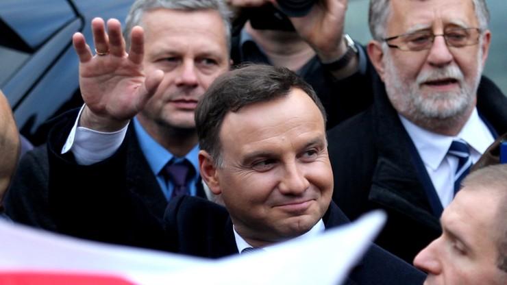CBOS: prezydent Andrzej Duda ma coraz lepsze notowania