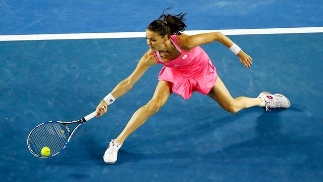 Australian Open - Radwańska odpadła w półfinale po porażce z Williams