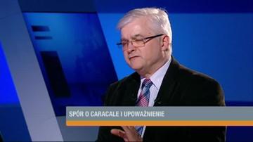 Cimoszewicz: PO ma podstawy, by żądać wyjaśnienia sprawy Caracali