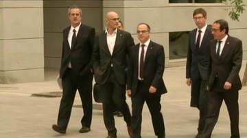 Członkowie zdymisjonowanego katalońskiego rządu złożą zeznania