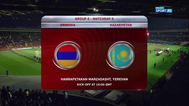 Armenia - Kazachstan 2:0. Skrót meczu