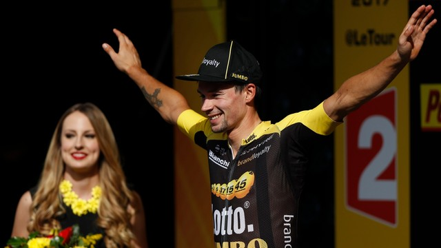 Tour de France - Primoz Roglic wygrał etap, Froome nadal liderem