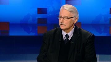 Waszczykowski: MSZ poprosi ambasadora UE w Polsce o wyjaśnienia