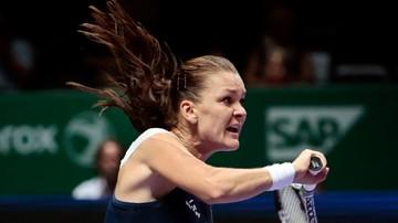 2015-10-27 WTA Finals. Agnieszka Radwańska: Pierwszy set powinien być mój!