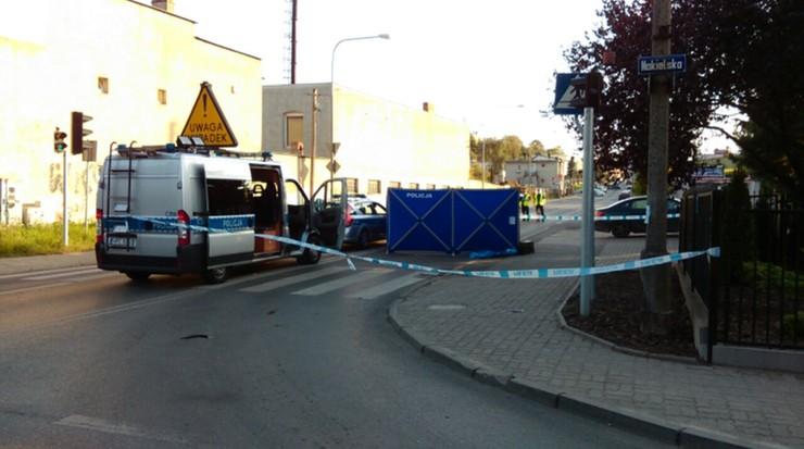Ruch w miejscu wypadku był częściowo zablokowany.