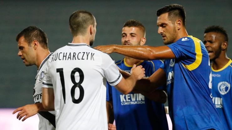 Liga Europy: Legia Warszawa z trzybramkową zaliczką przed rewanżem
