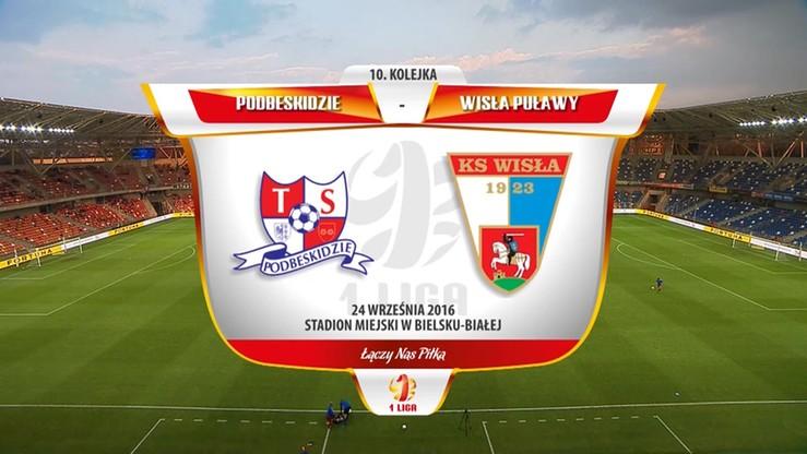 2016-09-24 Podbeskidzie Bielsko-Biała - Wisła Puławy 0:0. Skrót meczu