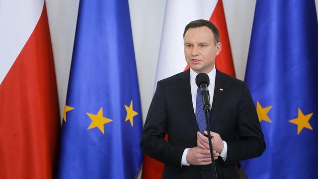 Prezydent: Musimy razem bronić wspólnych europejskich wartości