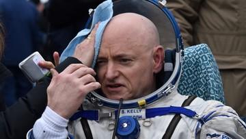 02-03-2016 06:53 Badali, ile można wytrzymać w kosmosie.  Dziś powrócili na Ziemię