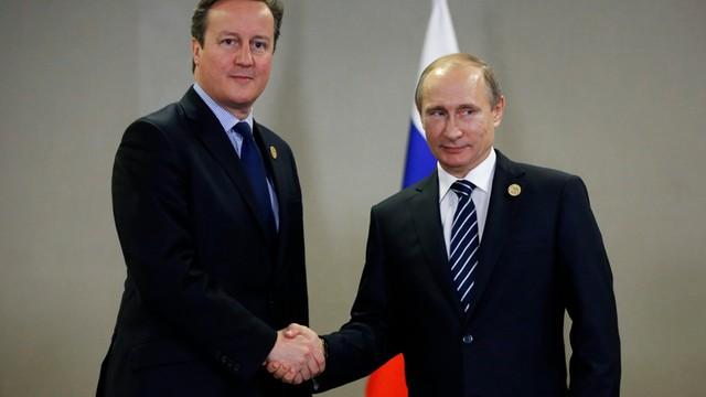 Putin: Moskwa i Londyn powinny połączyć wysiłki w walce z terroryzmem
