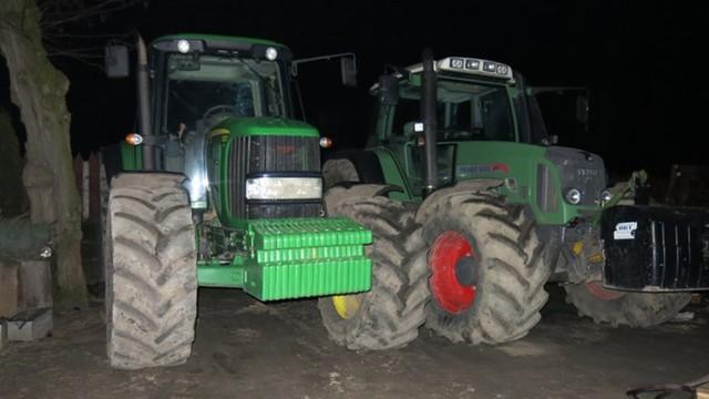 Gang handlarzy traktorami rozbity przez policję - kradli maszyny w Niemczech i Wlk. Brytanii