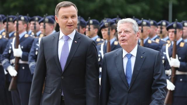 Prezydenci Polski i Niemiec świętują 25 lat traktatu o dobrym sąsiedztwie