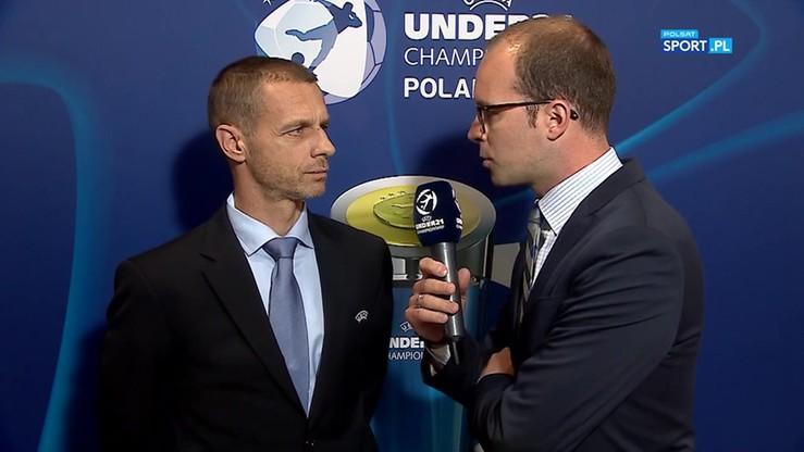 Prezydent UEFA: Dziękujemy polskiej federacji za kapitalną organizację Euro U-21