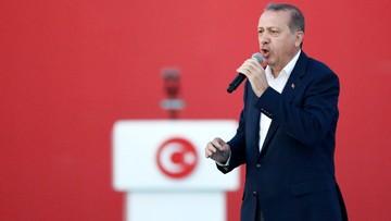 10-08-2016 16:14 Erdogan: donos na zwolennika Gulena to patriotyczny obowiązek