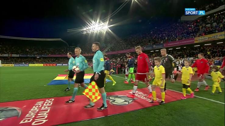 Rumunia - Dania 0:0. Skrót meczu