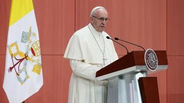 """13-02-2016 21:45 Papież ostro o narkotykach. """"To komercjalizacja śmierci"""""""