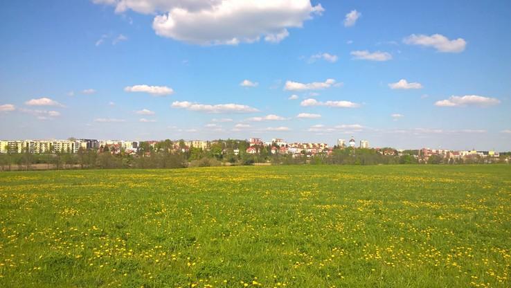 Wiosna w pełni w Ełku