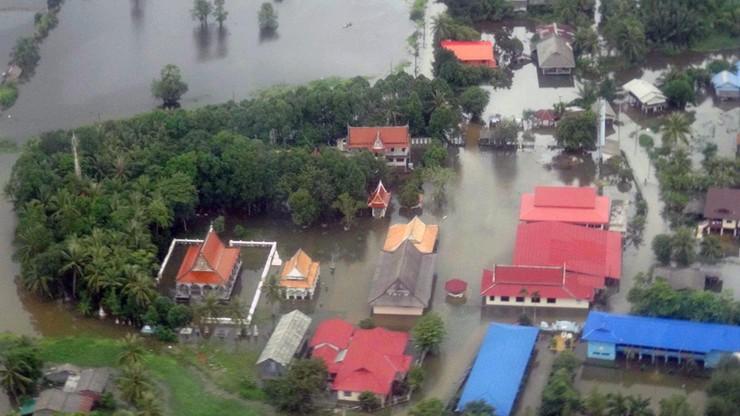 Powódź na południu Tajlandii. Coraz więcej ofiar