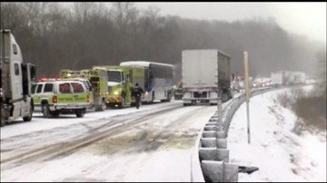 Zima zaatakowała w USA. Wypadek z udziałem 59 aut w Pensylwanii
