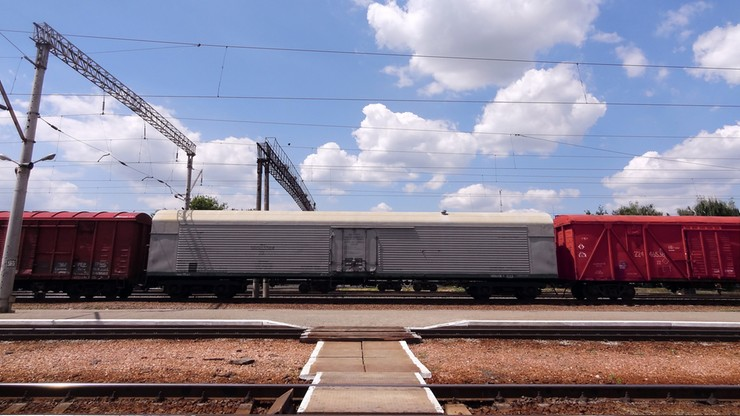 Ukraina uruchomiła pociąg, który ominie Rosję i dotrze do Chin