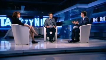 """14-10-2016 23:00 """"PiS nie słucha ludzi"""". Posłanka Nowoczesnej w programie """"Tak czy Nie"""""""