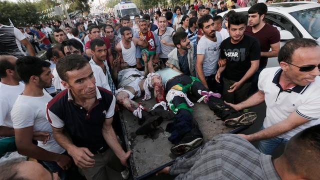 Turcja: eksplozje na wiecu przedwyborczym - 2 osoby nie żyją