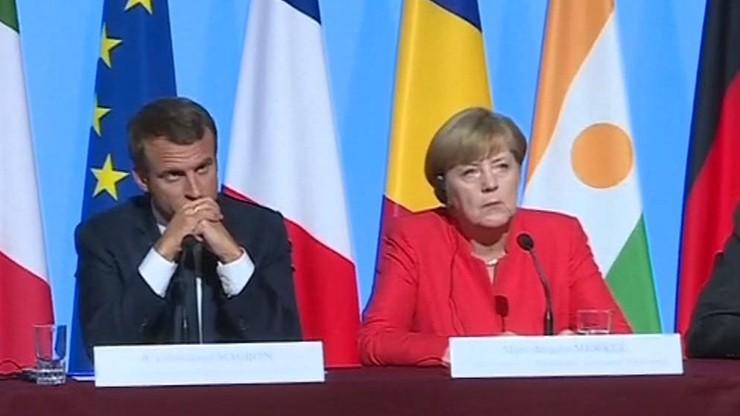 Rzecznik niemieckiego rządu: Merkel docenia wigor i europejską pasję Macrona